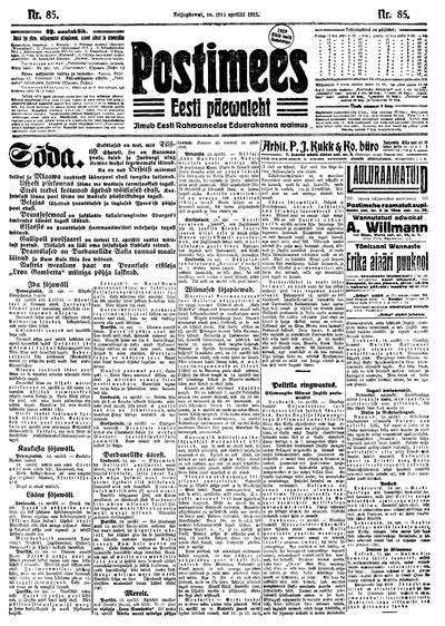 Postimees - 1915-04-16