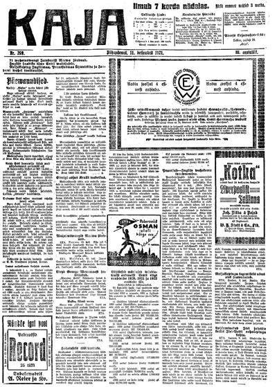 Kaja - 1921-12-11