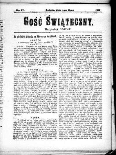 Głos Śląski - 1916-07-01
