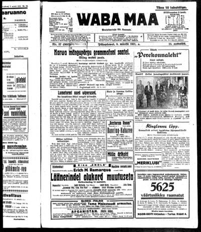 Waba Maa - 1931-03-08