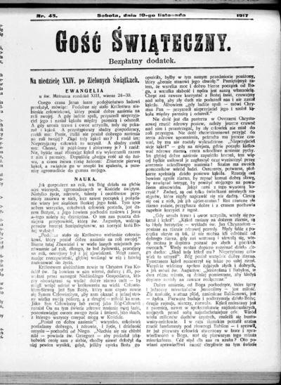 Głos Śląski - 1917-11-10