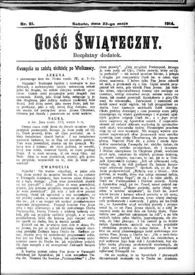 Głos Śląski - 1914-05-23