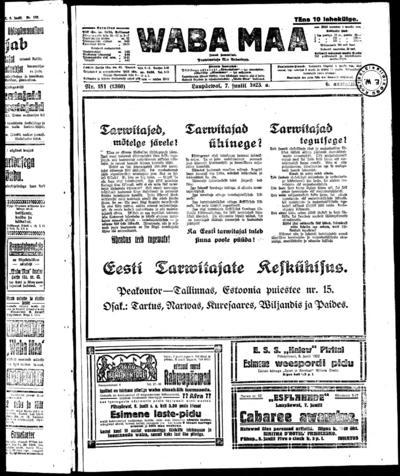 Waba Maa - 1923-07-07