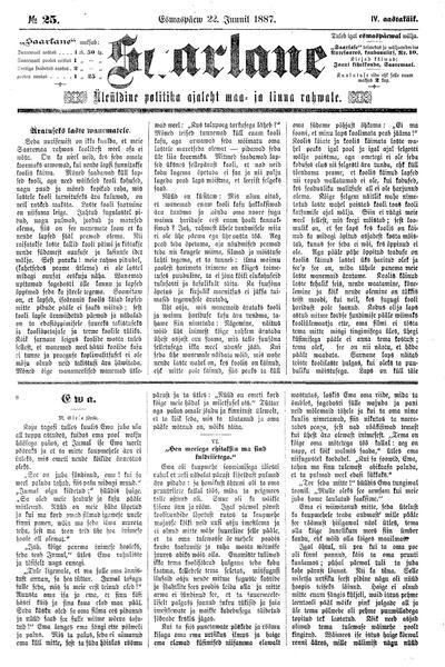 Saarlane - 1887-06-22