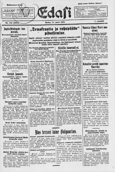 Edasi - 1924-07-11