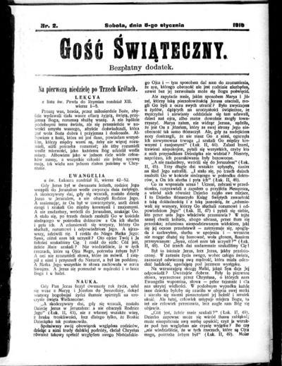 Głos Śląski - 1916-01-08