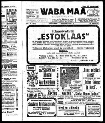 Waba Maa - 1927-02-17