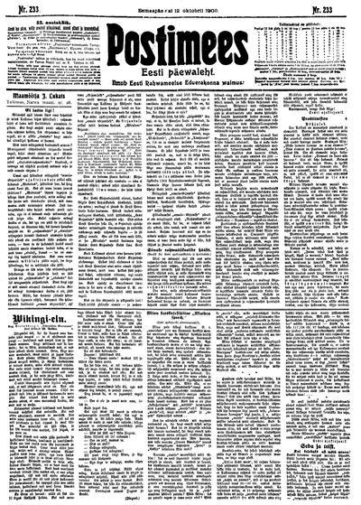 Postimees - 1909-10-12