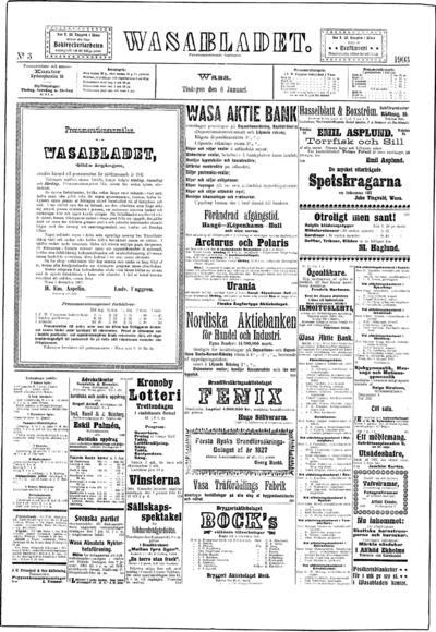 Vasabladet, nr: 3 - 1903-01-06