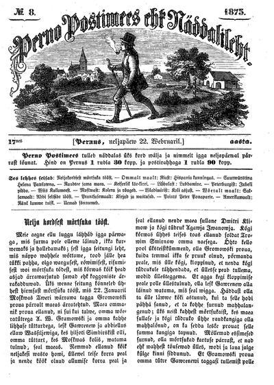 Perno Postimees - 1873-02-22