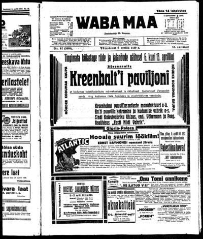 Waba Maa - 1930-04-06