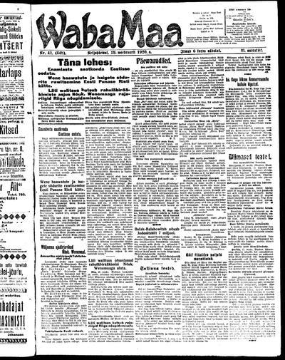 Waba Maa - 1920-02-19