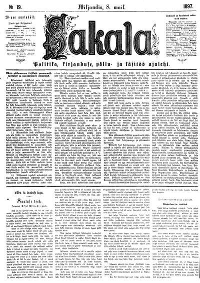 Sakala - 1897-05-08