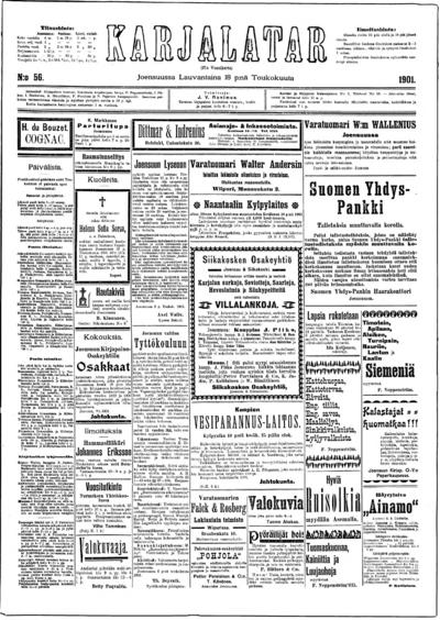 Karjalatar, nr: 56 - 1901-05-18