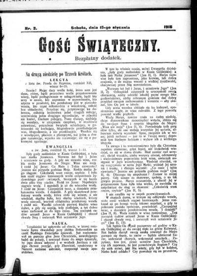 Głos Śląski - 1916-01-15