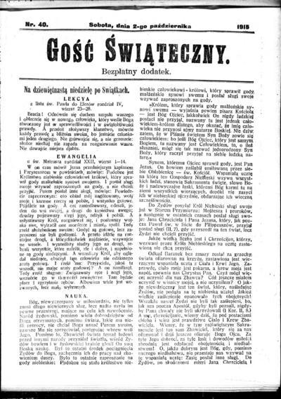 Głos Śląski - 1915-10-02