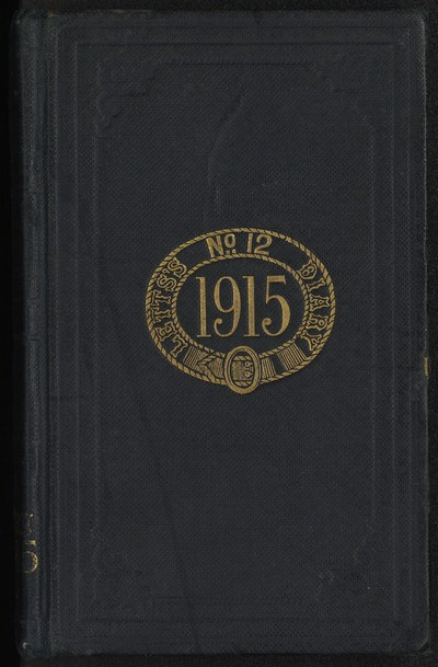 Diary of Fr. Francis A. Gleeson 17 January 1915 - 4 October 1915