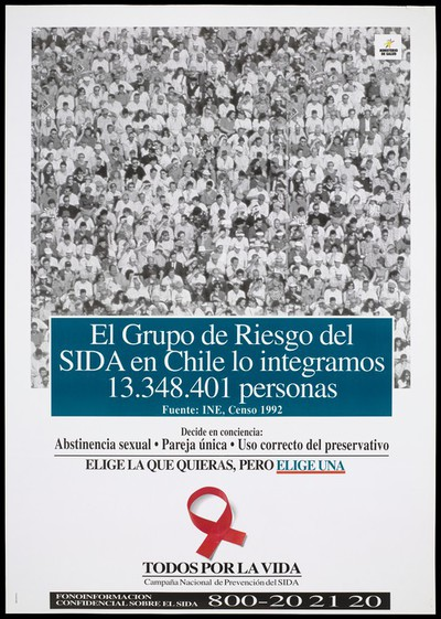 National AIDS prevention campaign in Chile