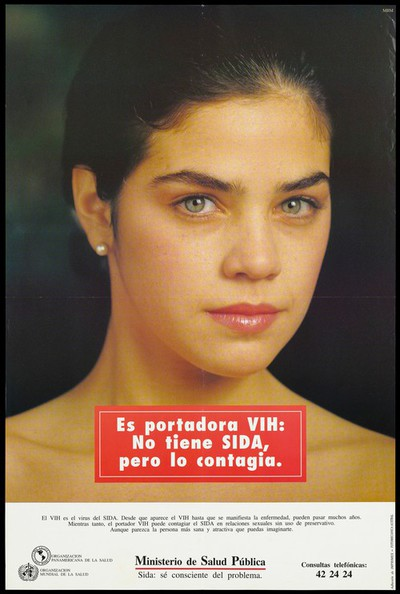 AIDS prevention advert from Uruguay