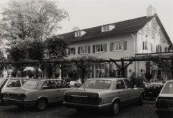 Restaurant Kleijn Speijk. Foto genomen vanaf de hoek Bosweg - Van Tienhovenlaan