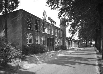 Gebouw van de Van Haren Schoenenfabriek.