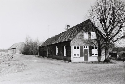 Kortgevelboerderij. Gebouwd tussen 1875 en 1900.