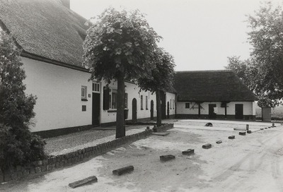 Kortgevelboerderij. Gebouwd in 1941.