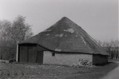 Langgevelboerderij. Gebouwd in ca. 1950.