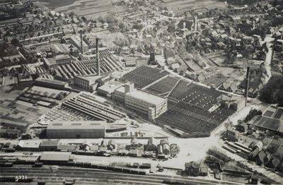 Luchtfoto van het ter Horstcomplex