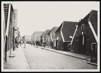 Noachstraat in de jaren 1950