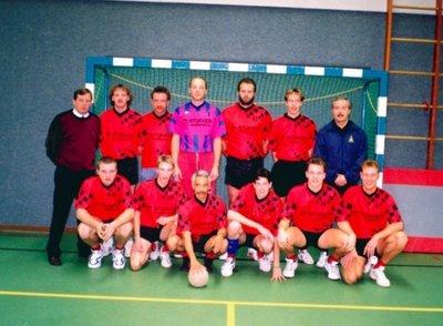 Herenteam van sv Holten afdeling handbal