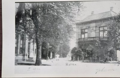 Ingang Grotestraat vanaf het Schild