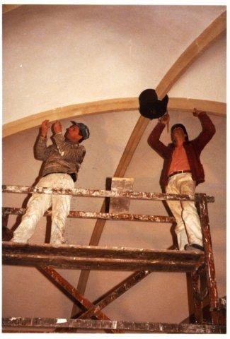 Restauratie van de Schildkerk