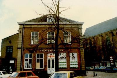 Theater Miniatuur annex Filmhuis aan de Groenmarkt 9, hoek Appelmarkt, Amersfoort. Voormalige Waag gebouw.