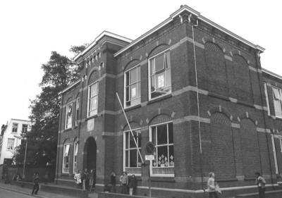Prins Willem-Alexanderschool aan de Frederik van Blankenheymstraat hoek Joannes van Dieststraat, Amersfoort.
