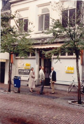 Hoogstraat bakkerij 'Van der Spek' noordwest