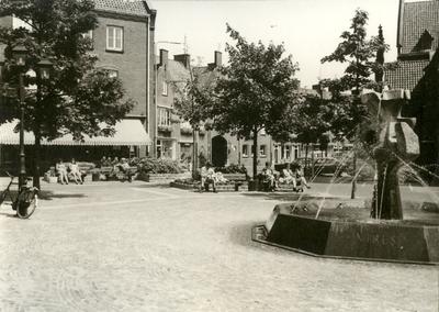 Hoogstraat Fontein Markt zuidoost