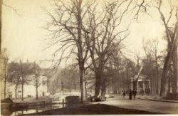 Koningskade ter hoogte van de Bosbrug en het Wachtje