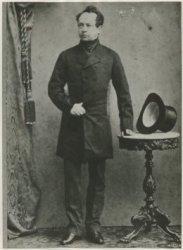 Mr. A.J.L. baron Stratenus, minister van Buitenlandse Zaken, 1 februari 1862 tot 2 januari 1864