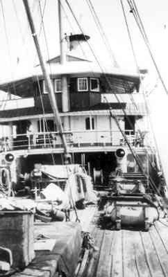 G.m.s. Castor (1914-1942) van de Gouvernementsmarine, Bebakeningsvaartuig. Van 1939-1942 in dienst bij de KM als werkschip te Soerabaja.