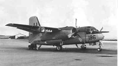 Onderzeebootbestrijdingsvliegtuig Grumman S2F-1(S-2A) Trackers(1960-1976) 196,
