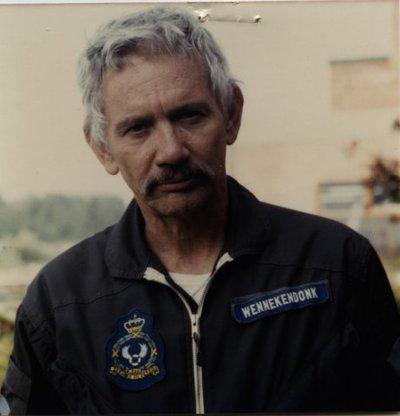 Adjudant-onderofficier-vlieger K. Wennekendonk, SAR squadron.