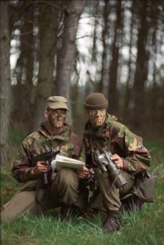 Oefening 104 Waarnemings- en Verkenningscompagnie Korps Commandotroepen.