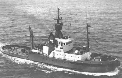 Sleepboot Suhaili van ITC Amsterdam-Haarlem (1977)