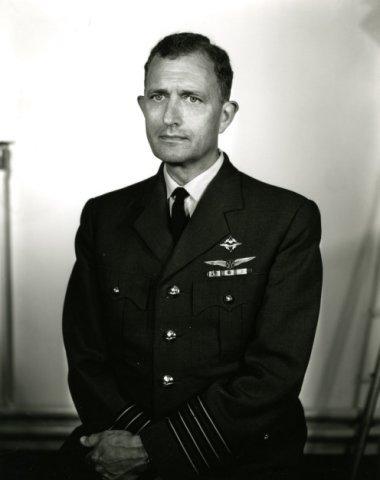 Kolonel-waarnemer H.J. Vermeulen, geboren in 1916.