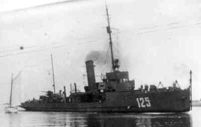 Duitse mijnenveger M 125 van de M1940-klasse