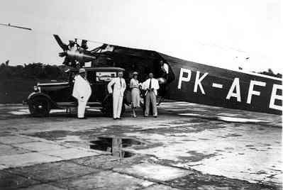 Fokker F-VIIb-3m,van de KNILM