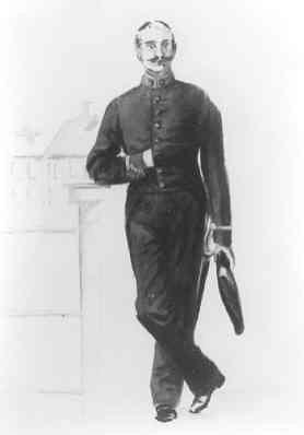 Een ambtenaar van het Stadstoezicht op de Volksgezondheid in de periode 1851-1866.