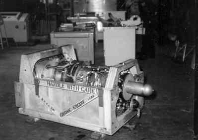 Gnome motor van de Augusta Bell heli