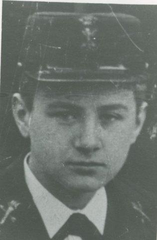 A.J. de Vries (1887-1985), aspirant-machinist.